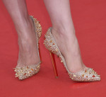 Jessica Chastain in Christian Louboutin