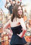 Elle Fanning  in Oscar de la Renta
