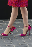 Jessica Chastain's Christian Louboutin sandals