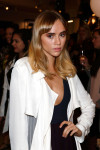 Suki Waterhouse in Burberry