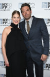 Rosamund Pike in Altuzarra and Ben Affleck in Gucci