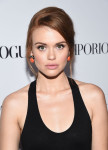 Holland Roden in Emporio Armani