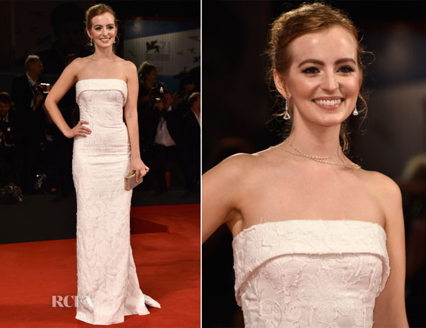 Ahna O'Reilly In Dolce & Gabbana - 'She's Funny That Way' Venice Film Festival Premiere