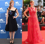 Ahna O'Reilly In Preen & Monique Lhuillier - 'The Sound and The Fury' Venice Film Festival Photocall & Premiere