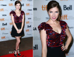 Anna Kendrick In Miu Miu -  'The Voices'  Toronto  Film Festival Premiere