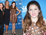Anna Kendrick In RED Valentino -  'Cake' Toronto Film Festival Press Conference