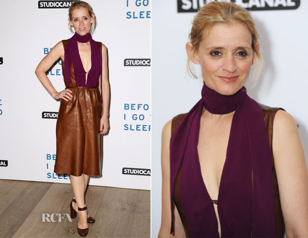 Anne-Marie Duff In Prada - 'Before I Go To Sleep' London Gala Screening