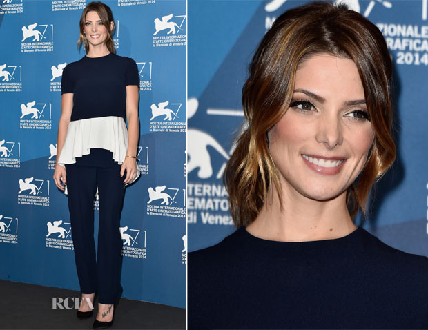 Ashley Greene In Alexander McQueen - 'Burying The Ex' Venice Film Festival Photocall