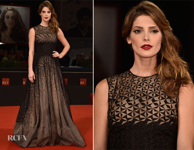 Ashley Greene In Antonio Berardi - 'Burying The Ex' Venice Film Festival Premiere