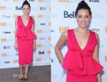 Aubrey Plaza In Marni -  'Ned Rifle' Toronto Film Festival Premiere