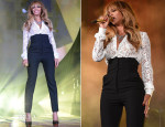 Beyonce Knowles In Dolce & Gabbana - 2014 Global Citizen Festival