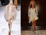 Beyonce Knowles In Topshop Unique - Beyoncecom