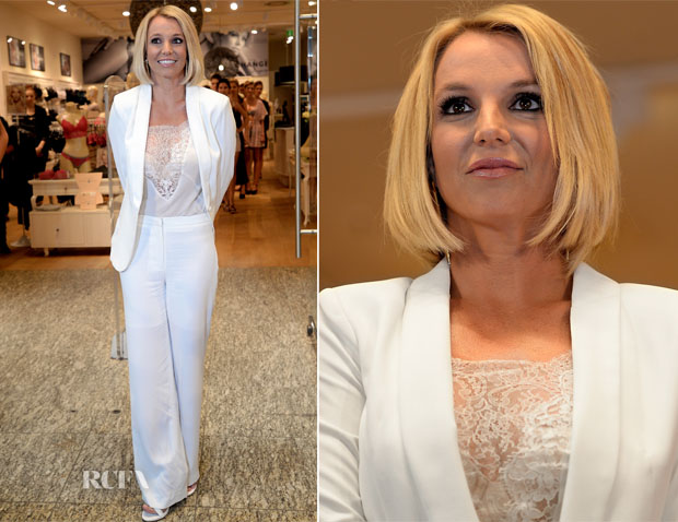 Britney Spears In Michael Costello -  'The Intimate Britney Spears' Germany Launch
