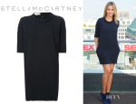 Cameron Diaz' Stella McCartney Loose Fit Jersey Dress