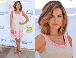 Camilla Belle In Shoshanna  - 5th Annual L.A. Loves Alex's Lemonade Annual Fundraiser