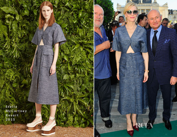 Cate Blanchett In Stella McCartney - 2014 Zurich Film Festival IWC Photo Exhibition Opening