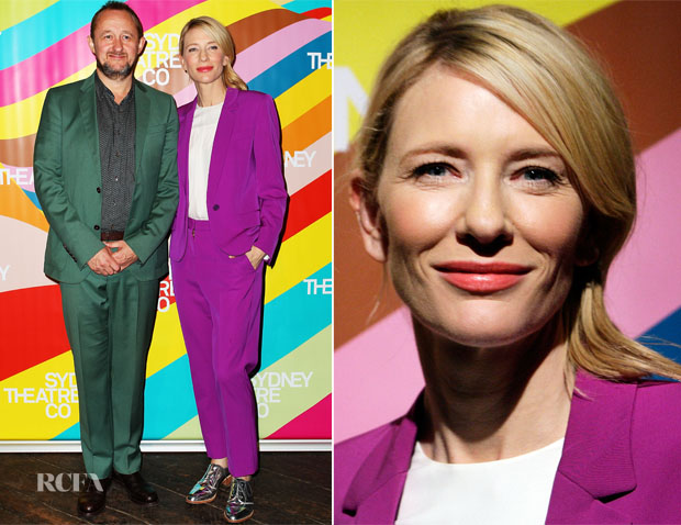 Cate Blanchett In Stella McCartney - Sydney Theatre Company Launch 2015