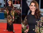 Caterina Murino In Dolce & Gabbana - 'Hungry Hearts' Venice Film Festival Premiere