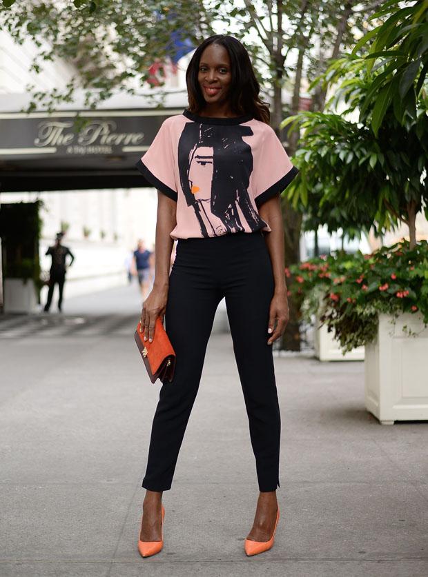 Catherine Kallon New York Fashion Week Day 7 Osman
