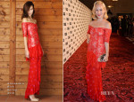Charlotte Dellal In Alessandra Rich - 2014 GQ Men Of The Year Awards