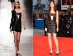 Charlotte Gainsbourg In Anthony Vaccarello - – 'Nymphomaniac: Volume 2 – Directors Cut' Venice Film Festival Premiere