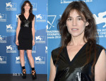 Charlotte Gainsbourg In Louis Vuitton - 'Nymphomaniac Volume 2 - Directors Cut' Venice Film Festival Photocall