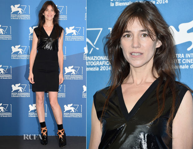 Charlotte Gainsbourg In Louis Vuitton - 'Nymphomaniac: Volume 2 - Directors Cut' Venice Film Festival Photocall