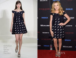 Chloe Grace Moretz In Christian Dior Couture - 'The Equalizer' New York Premiere
