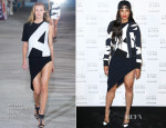 Ciara In Anthony Vaccarello - Stuart Weitzman Cocktail Party