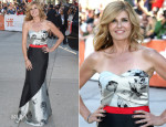 Connie Britton In Noir Sachin & Babi - 'This Is Where I Leave You' Toronto Film Festival Premiere