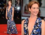 Cristiana Capotondi In Marni - 'Hungry Hearts' Venice Film Festival Premiere