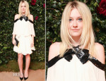 Dakota Fanning In Saint Laurent - W, COACH, and The PENINSULA Celebrate the It Girls of W Magazine