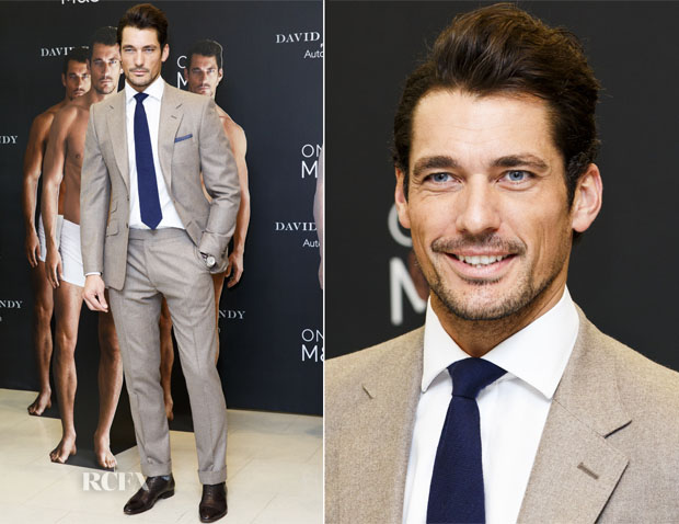 b82d8d877 David Gandy In Marks and Spencer - David Gandy For M&S Autograph ...