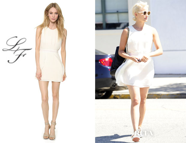 Dianna Agron's  Lovers + Friends 'Monica Rose Veria' Dress