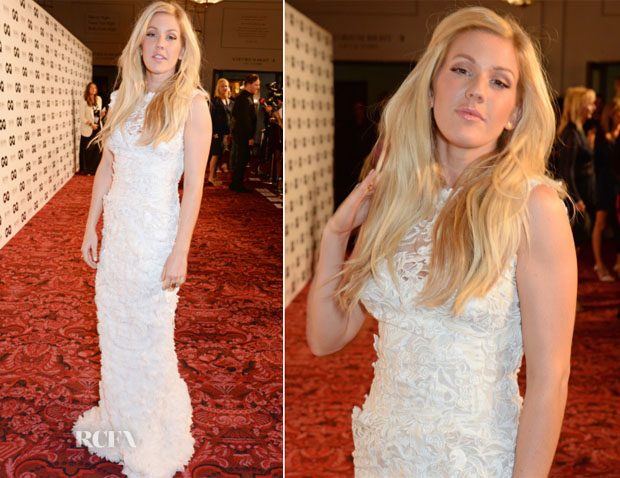 Ellie Goulding In Ermanno Scervino - 2014 GQ Men of the Year Awards
