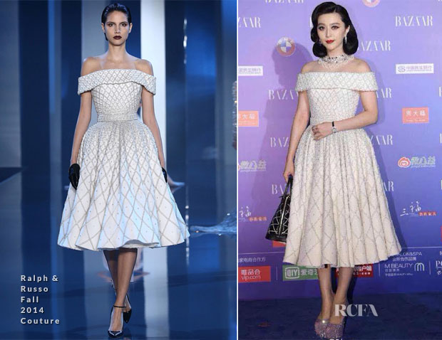 Fan Bingbing In Ralph & Russo Couture - Harper's Bazaar China Charity Gala