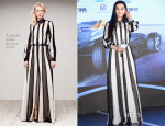 Fan Bingbing In Tadashi Shoji - FIA Formula E Championship Greater China Operation Launch