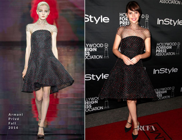 Felicity Jones In Armani Privé - 'The Theory of Everything' Toronto Film Festival Premiere