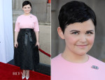 Ginnifer Goodwin In Marni - 'Once Upon A Time' Season 4 Premiere