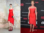 Gretchen Mol In Vivienne Westwood - 'Boardwalk Empire' Season Five Premiere