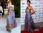 Gugu Mbatha-Raw In Delpozo - 'Beyond The Lights' Toronto Film Festival Premiere