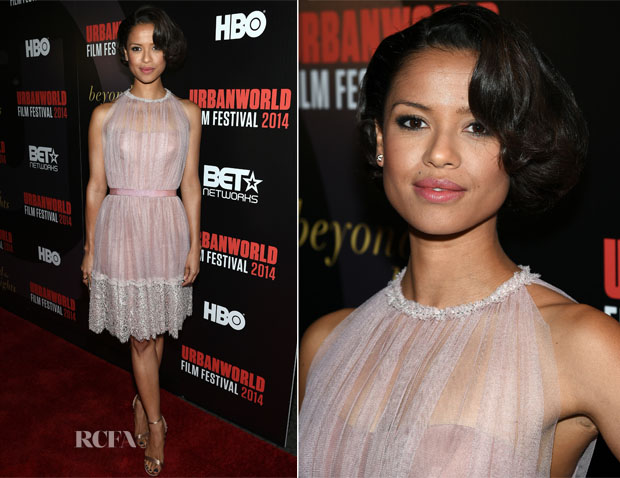 Gugu Mbatha-Raw In Jenny Packham - 'Beyond the Lights' Urbanworld Film Festival Opening