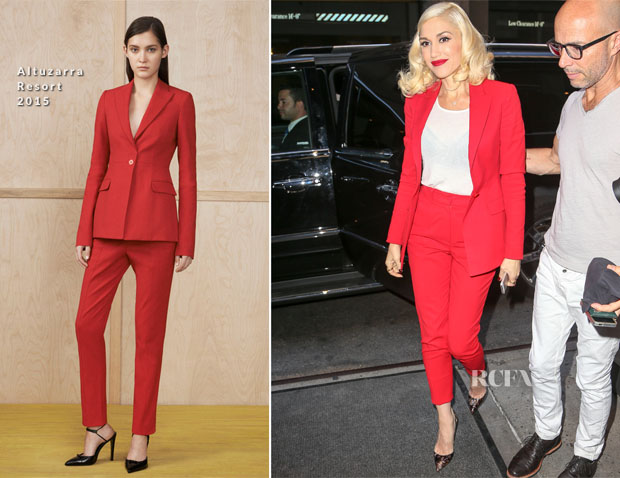 Gwen Stefani In Altuzarra - The Today Show
