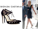 Gwyneth Paltrow's Bionda Castana Ankle-Tie 'Lana' Pumps