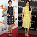 Hailee Steinfeld In Calvin Klein & Gucci - 'The Riot Club' Toronto Film Festival Premiere & HFPA & InStyle's 2014 TIFF Celebration