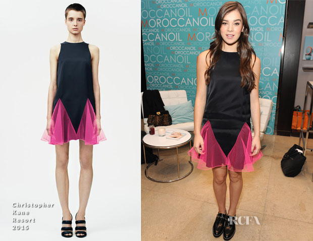Hailee Steinfeld In Christopher Kane - Variety Studio At Holt Renfrew