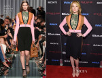 Haley Bennett In Louis Vuitton - 'The Equalizer' New York Premiere