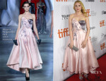 Haley Bennett In Ulyana Sergeenko Couture - 'The Equalizer' Toronto Film Festival Premiere
