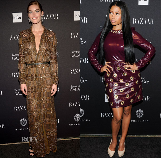 Harper's BAZAAR Celebrates Icons By Carine Roitfeld Carpet Roundup 2