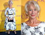 Helen Mirren In Suzannah - 'The Hundred Foot Journey' London Premiere